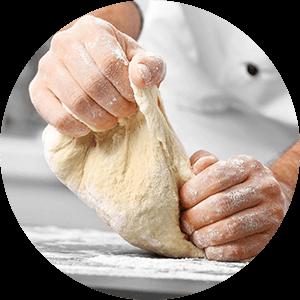 Bäckerei Bild Rund