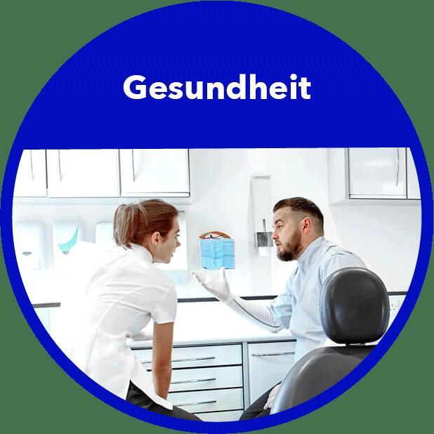 Gesundheit Branchenbild Rund