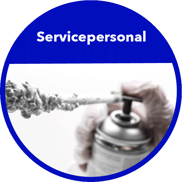 Servicepersonal Branchenbild Rund